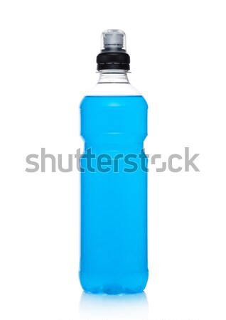 Bottle of hydro sport energy drink on white Stock photo © DenisMArt