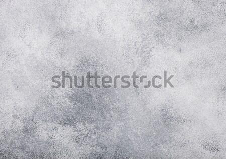 Light grey cement concrete stone wall texture background Stock photo © DenisMArt
