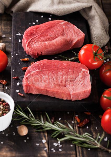 Frescos crudo carne Foto stock © DenisMArt