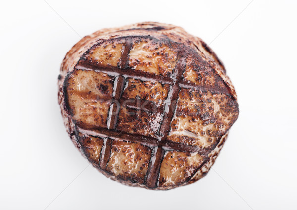 A la parrilla jugoso carne de vacuno cerdo filete rebanada Foto stock © DenisMArt