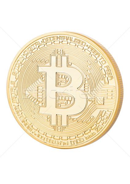 Bitcoinの ビット コイン デジタル 通貨 ストックフォト © DenisMArt