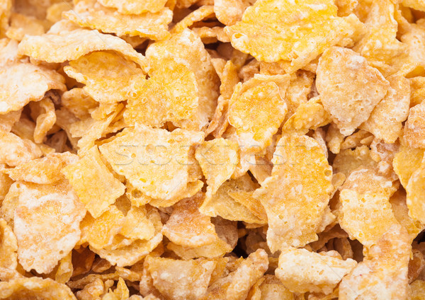 Organic fresh cereal granola corn flakes  Stock photo © DenisMArt