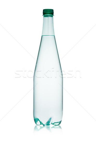 Plástico botella saludable agua blanco reflexión Foto stock © DenisMArt