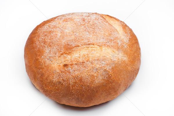 Sem glúten orgânico pão branco Foto stock © DenisMArt