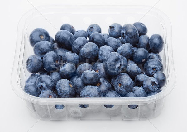 Fresh healthy organic blueberry in container Stock photo © DenisMArt