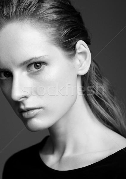 Modelo corpo jovem belo moda Foto stock © DenisMArt