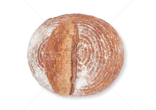Pão pão farinha branco Foto stock © DenisMArt