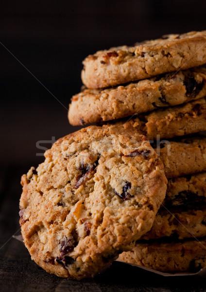Sin gluten chocolate cookies edad Foto stock © DenisMArt