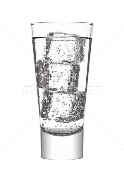 Glas water soda drinken limonade Stockfoto © DenisMArt