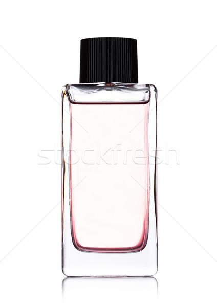 Luxo rosa líquido perfume garrafa branco Foto stock © DenisMArt