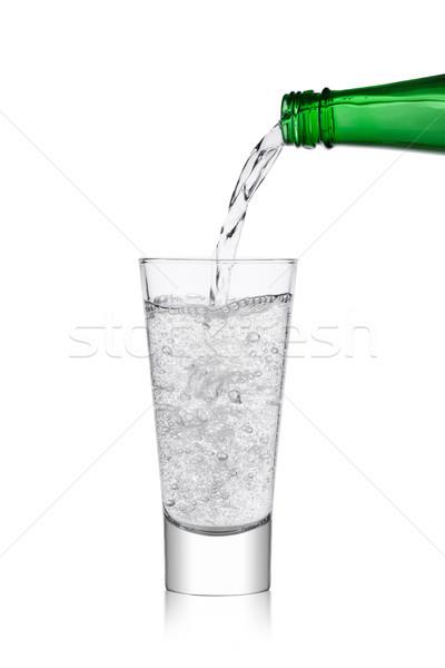 áramló limonádé üdítő ital üveg üveg Stock fotó © DenisMArt