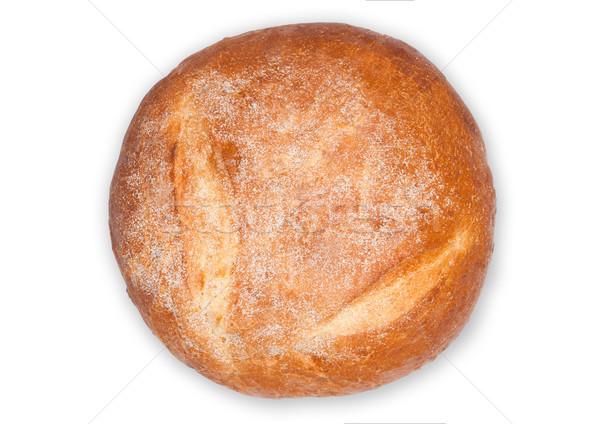 Vers gebakken glutenvrij organisch brood witte Stockfoto © DenisMArt