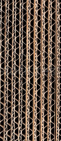 Corrugated cardboard background Stock photo © DenisNata