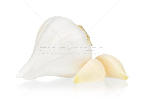 Fresh garlic Stock photo © DenisNata