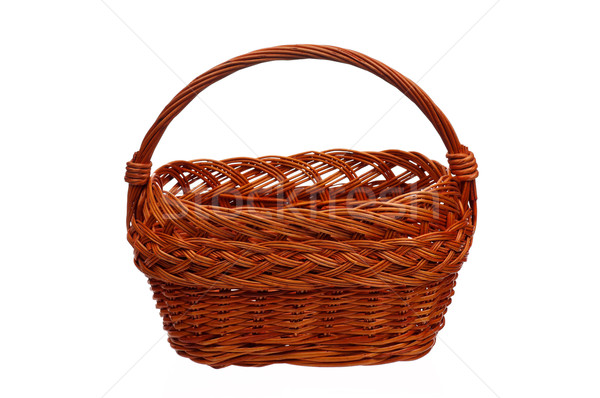 Wicker basket Stock photo © DenisNata
