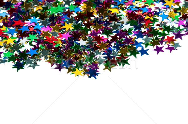 Natal abstrato colorido luzes festa fundo Foto stock © DenisNata