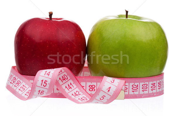 Stock photo: Fresh apple