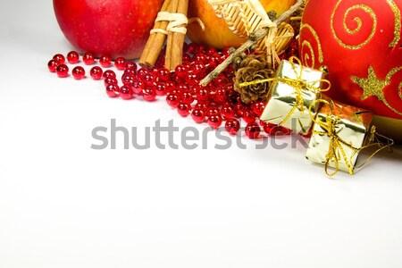Noël décoratif photo détails design Photo stock © Dermot68