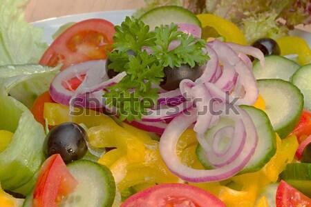 野菜 サラダ 材料 写真 細部 ストックフォト © Dermot68