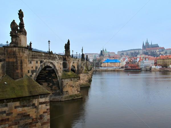 Ponte Praga República Checa foto ver velho Foto stock © Dermot68