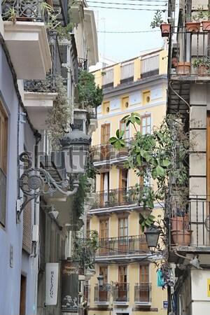 Cidade Valência Espanha foto tarde verão Foto stock © Dermot68