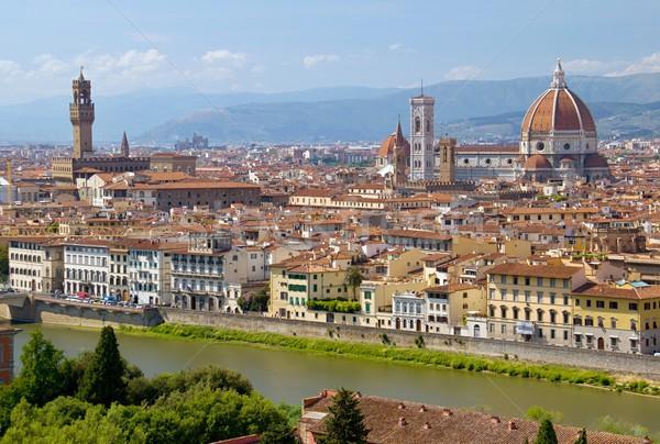 Florence foto geral ver cidade Foto stock © Dermot68