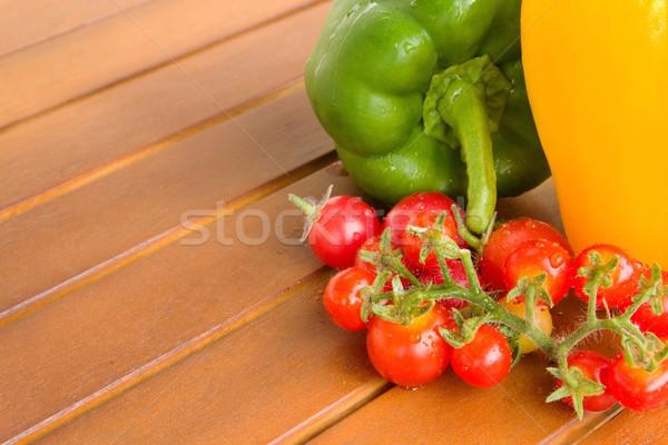 カラフル 野菜 表 写真 詳細 健康 ストックフォト © Dermot68