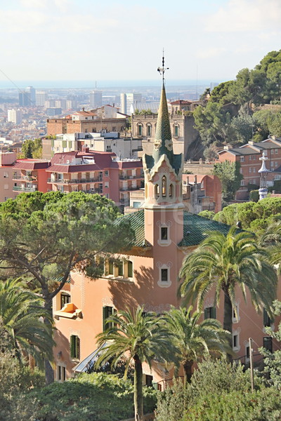 Parc Guell, Barcelona, Spain Stock photo © Dermot68