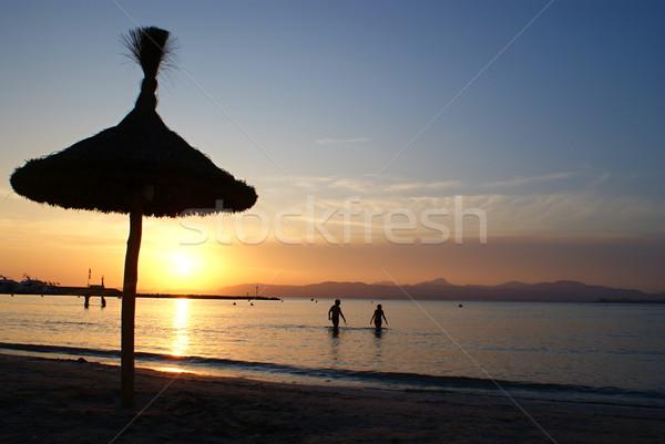 Sunset, Mallorca Stock photo © Dermot68
