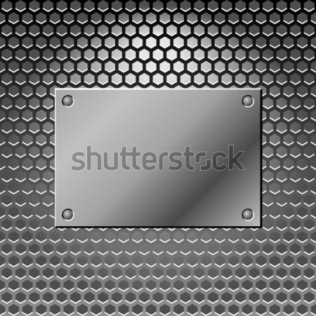 Abstract metal background. Steel Stock photo © Designer_things