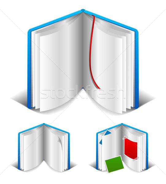 Open book Stock photo © Designer_things