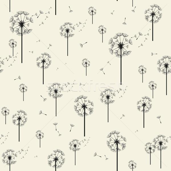 タンポポ ベクトル 現代 スタイリッシュ テクスチャ ストックフォト © Designer_things