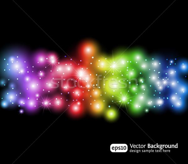 抽象的な 虹 色 現代 テクスチャ 光 ストックフォト © Designer_things