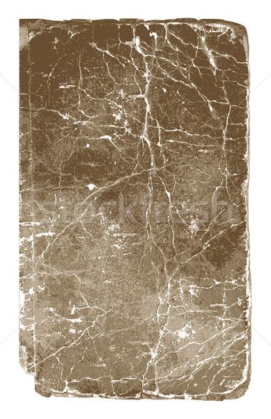 Eski kitap doku bağbozumu vektör kâğıt kitap Stok fotoğraf © Designer_things