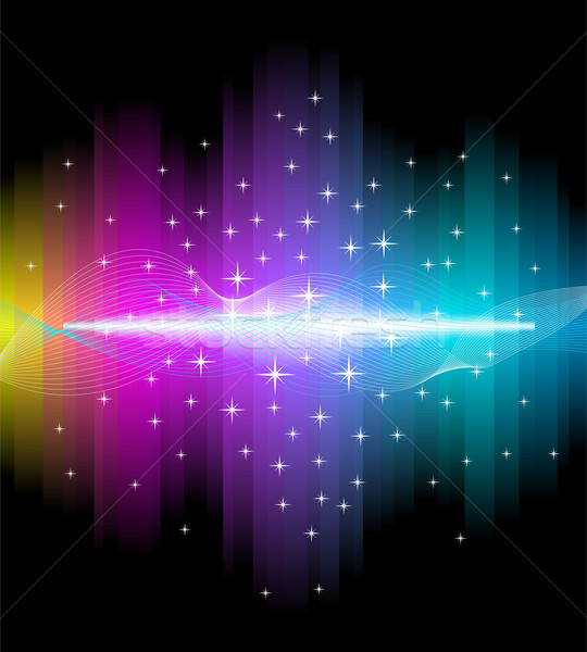Electric light effect background Stock photo © Designer_things