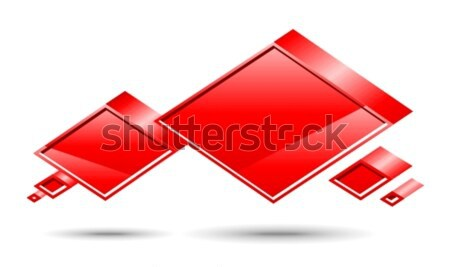 Chat box. Red Stock photo © Designer_things