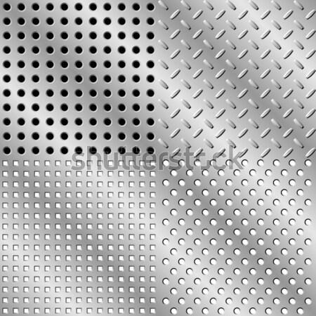 Seamless steel background Stock photo © Designer_things