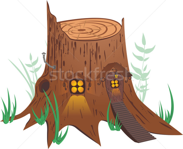 Little fairy-tale house Stock photo © Designer_things