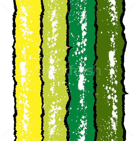 Grunge ink splat background in green and yellow Stock photo © Designer_things