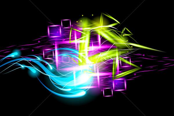 Light effect background Stock photo © Designer_things