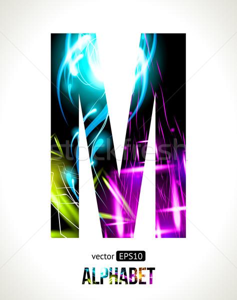 Letter M Stock photo © Designer_things