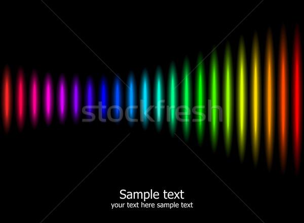 抽象的な 虹 色 場所 テクスチャ 美 ストックフォト © Designer_things