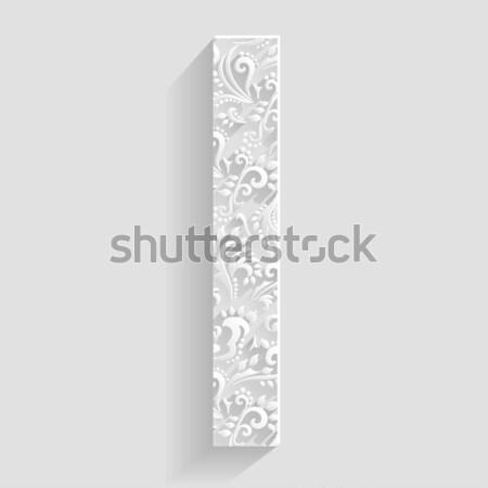 Stock fotó: Szimbólum · vektor · virágmintás · meghívó · kártyák · dekoratív