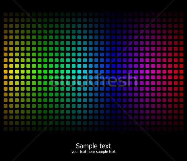 抽象的な 虹 色 現代 テクスチャ 美 ストックフォト © Designer_things