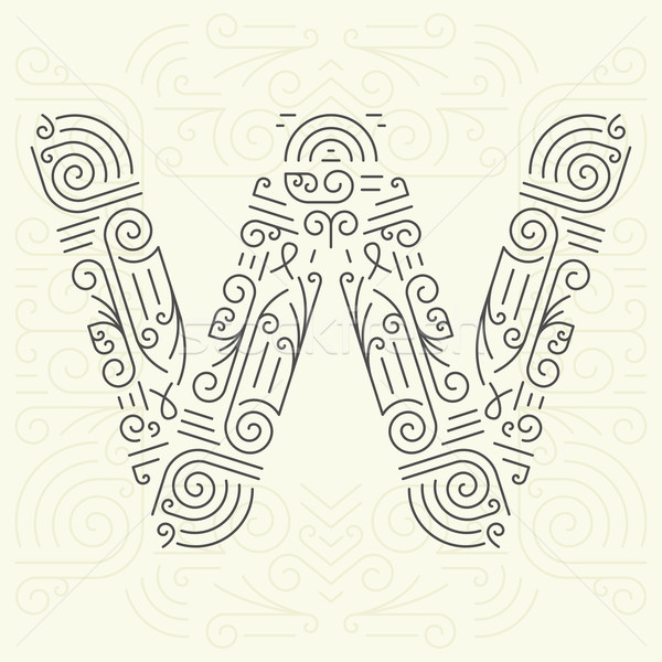 Letter W Add To Lightbox Download Comp