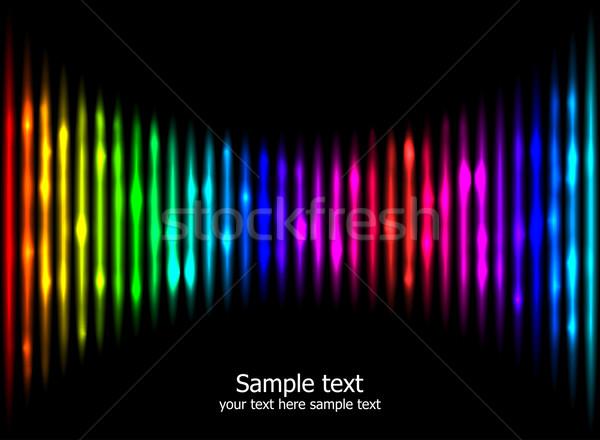 抽象的な 虹 色 eps10 現代 テクスチャ ストックフォト © Designer_things