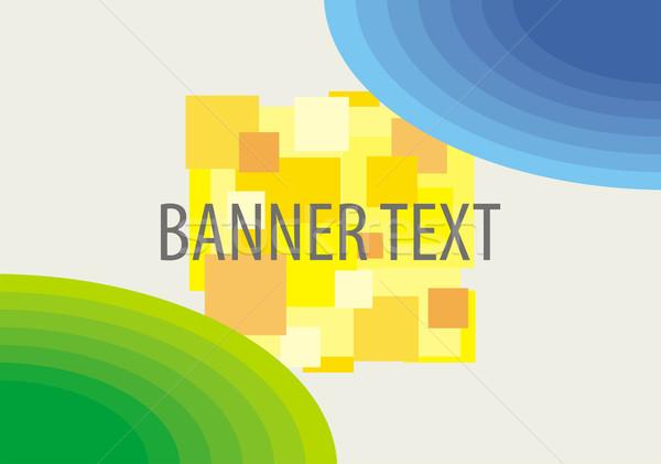 Vector background for banner Stock photo © Designer_things