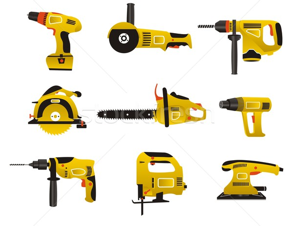 Electric instrument icons Stock photo © Designer_things