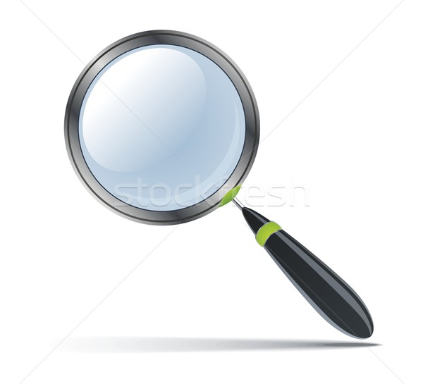 Magnifying glass Stock photo © Designer_things