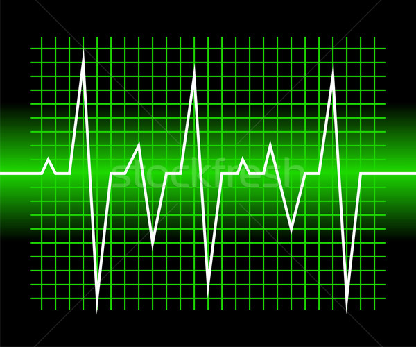 Graphic of digital sound wave Stock photo © Designer_things
